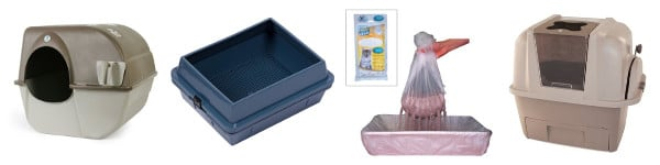 Assisted Cleaning Litter Box