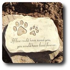 Devotion Pet Garden Stone