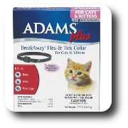 Adams Plus Flea and Tick Collar for cats