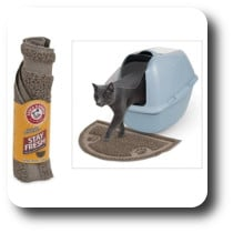 Arm and Hammer cat litter mat