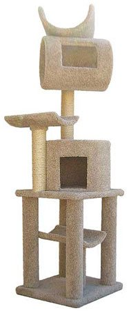Premium Carpted Cat Tree