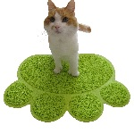 Paw Shaped litter Mat
