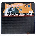 Black Hole Square Litter Mat
